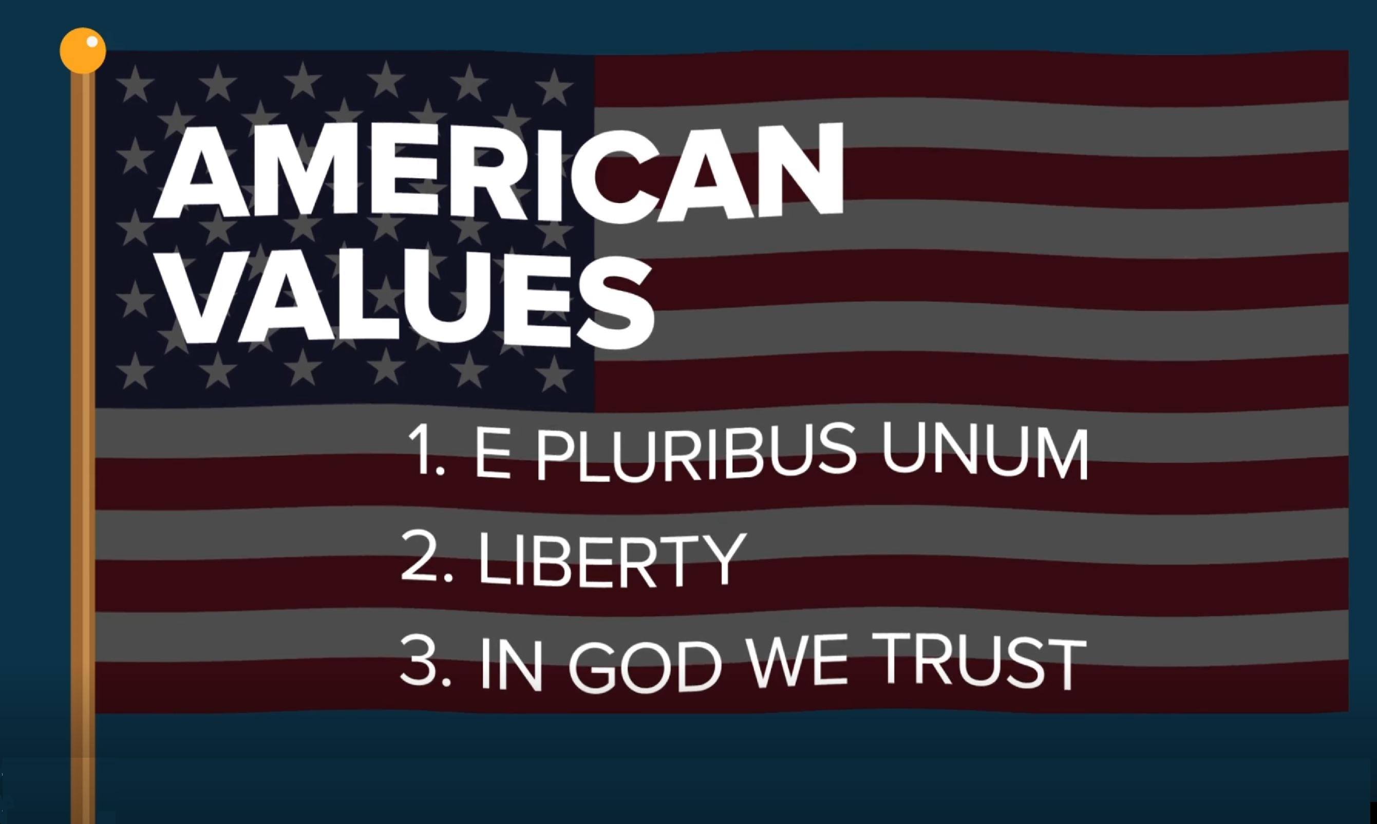 2020-10-10 Amercian Values