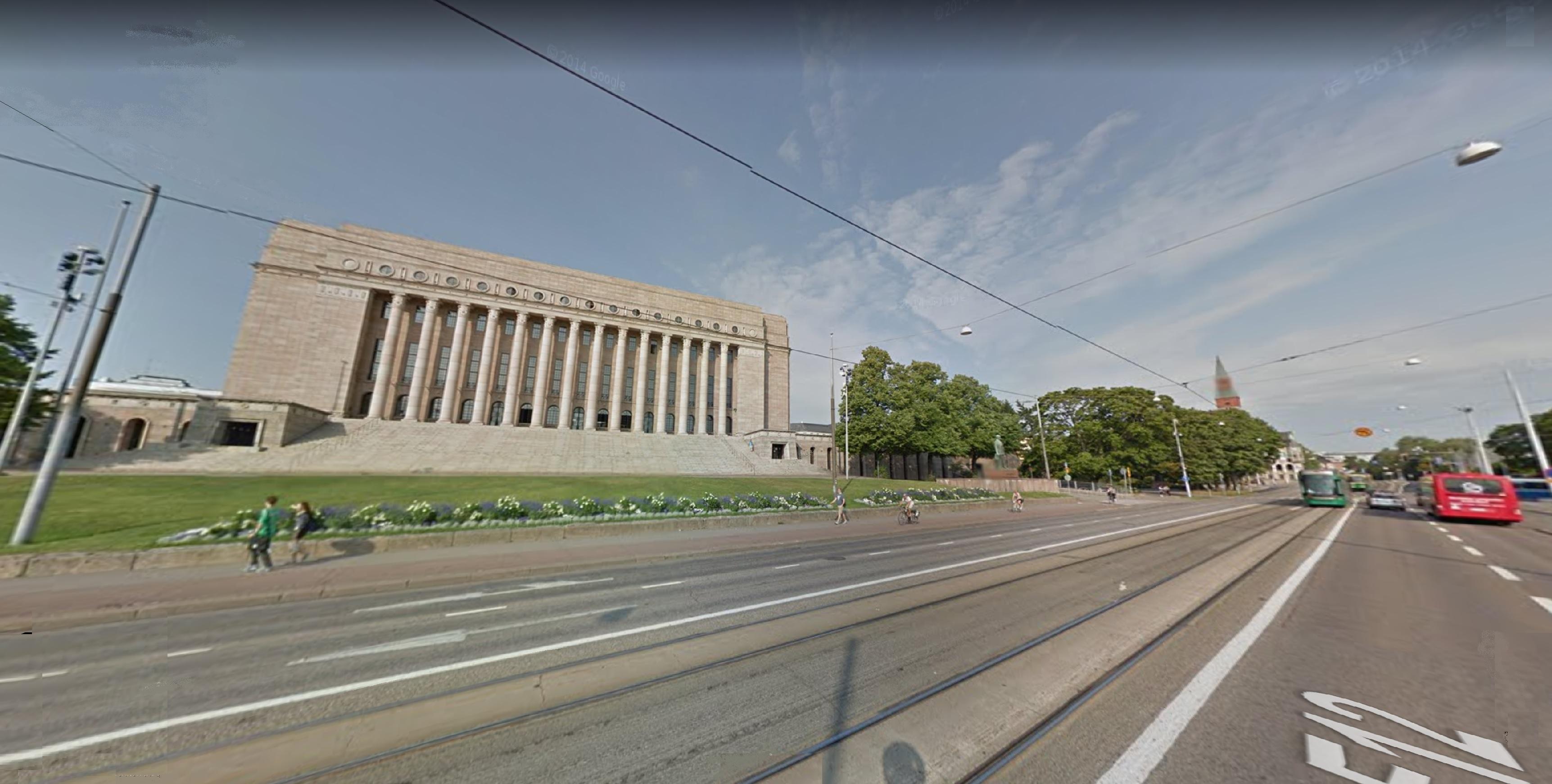 2021-05-01 Finland Parliament Building