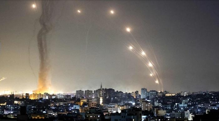 2021-05-19 3000 of 30000 Rockets Fired at Isael