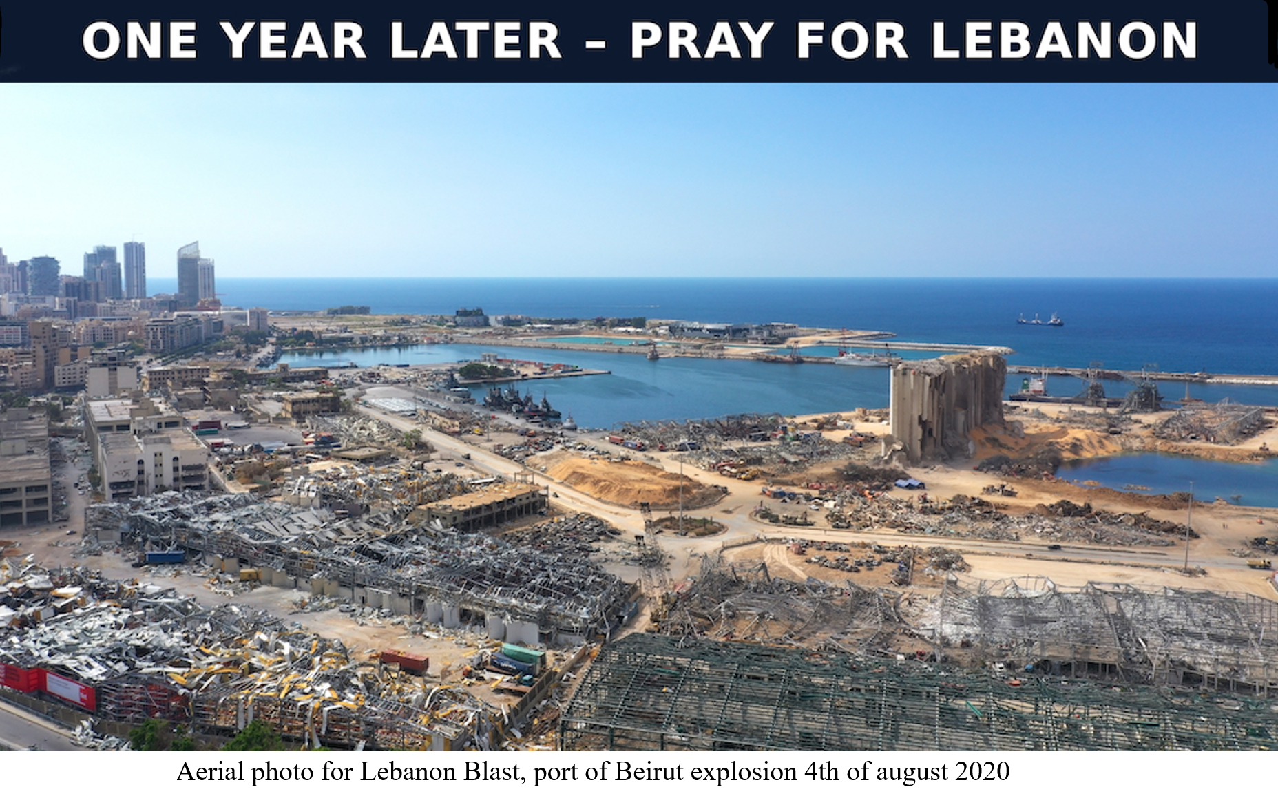 2021-08-04 Beirut One Year Later