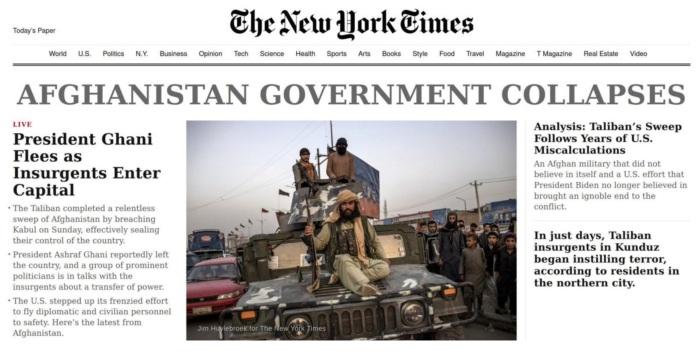 2021-08-16 NYT Headline