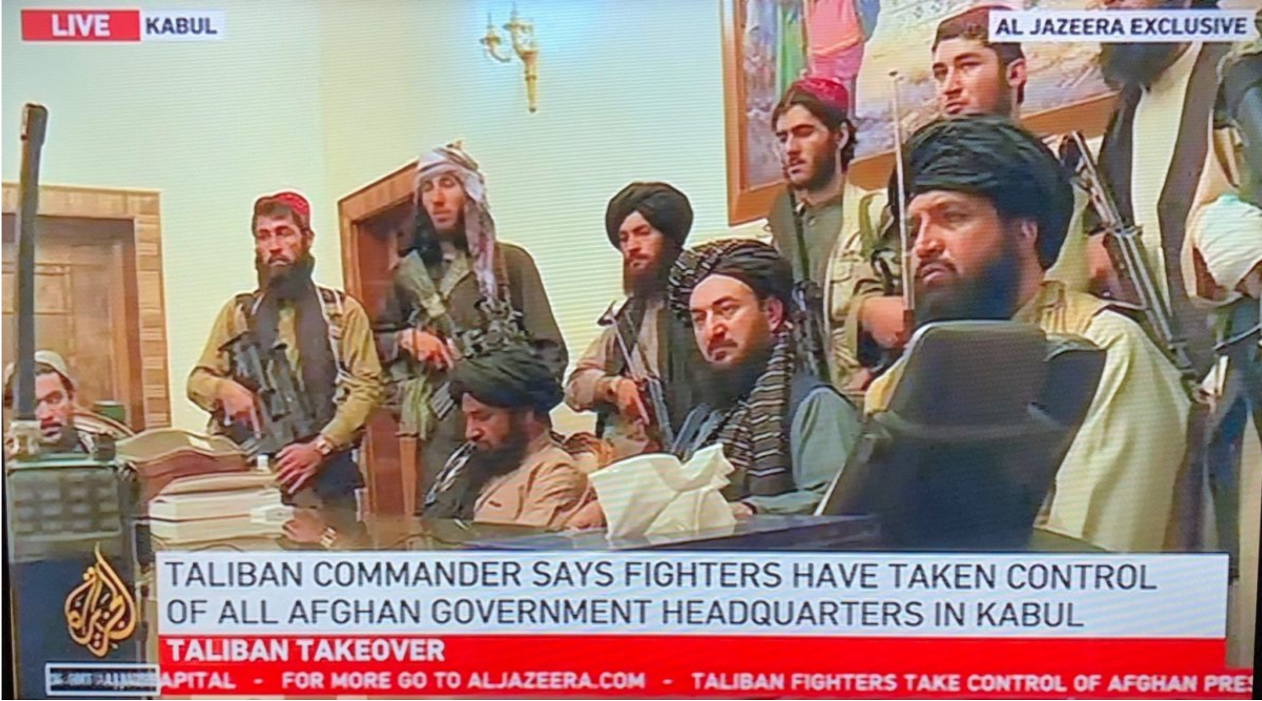 2021-08-16 Taliban Takeover